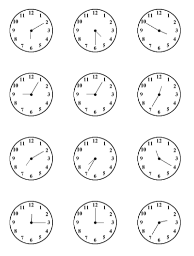 Worksheets Spanish Time Worksheet clock telling time worksheet spanish delwfg com com
