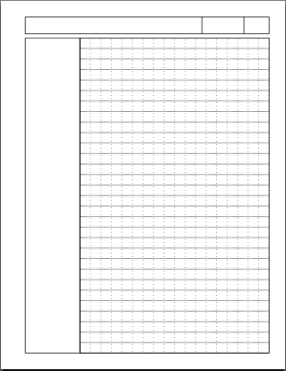 Dr. Drang  Notebook Paper Word Template