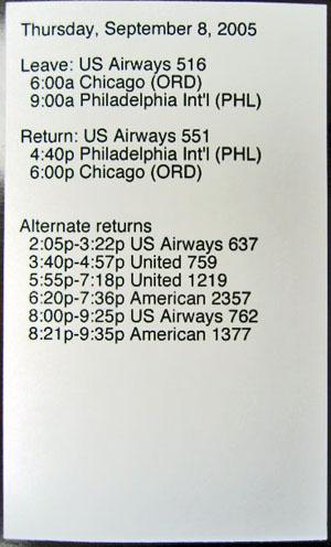 HPDA travel card