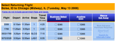 Formatting flight schedules for trip card all this for Flight schedule template