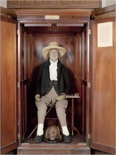 Bentham's auto-icon