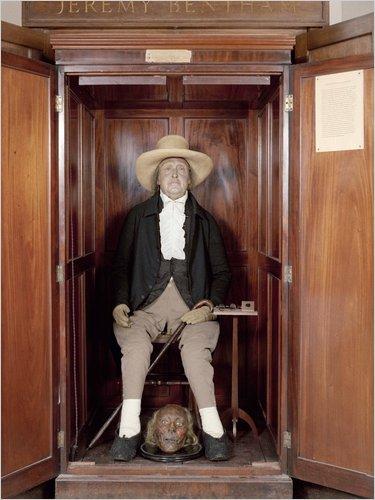Bentham's auto-icon
