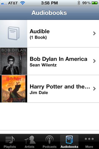 how to put audiobook on iphone through itunes