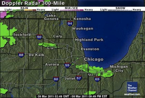 300-mile Doppler