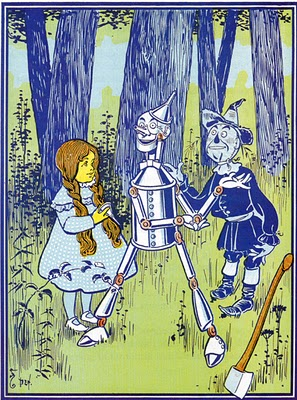 W.W. Denslow illustration from the original Wonderful Wizard of Oz