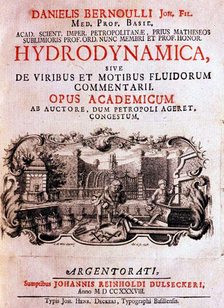 Cover of Hydrodynamica