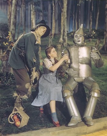 Screen capture from The Wizard of Oz