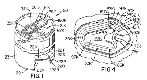 Excerpt of patent drawings
